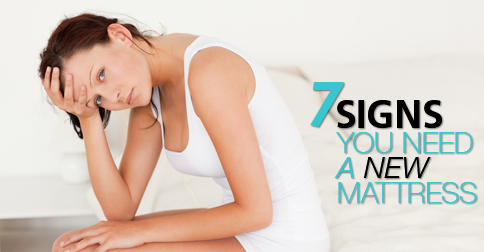 Seven signs you need a new mattress