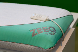 TechCrunch , The ZEEQ smart pillow tracks sleep, plays music and more