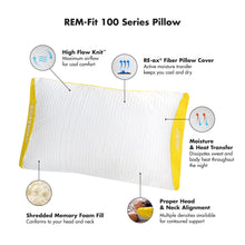 Load image into Gallery viewer, Shredded Memory Foam Pillow, Personal Size