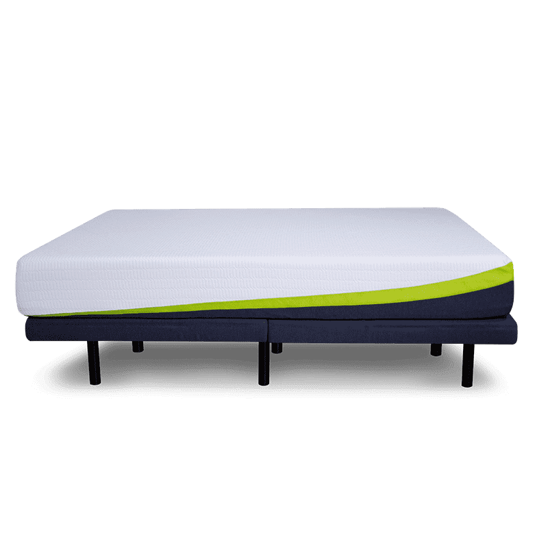 adjustable power base with mattress