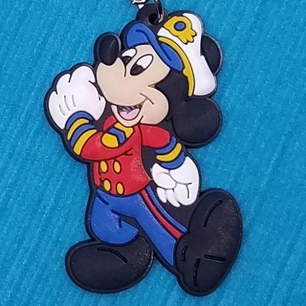Captain Mickey & Sailor Minnie Keychain - Exclusive!