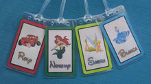 Set of Four Personalized Luggage Tags