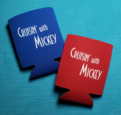 Cruisin' with Mickey Can Hugger - Can Cozy