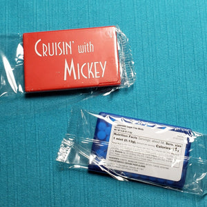 Cruisin' with Mickey Mint Card - Peppermint or Cinnamon Candy