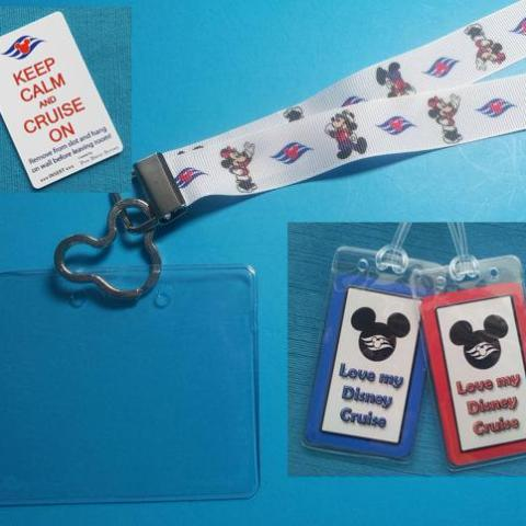 Cruise Gift Set - Disney - DCL - Lanyards - Luggage Tags - Light Card®