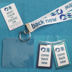 Cruise Gift Set - Princess Cruises - Lanyards - Luggage Tags - Light Card®