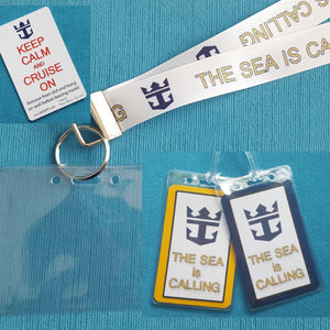 Cruise Gift Set - Royal Caribbean - Lanyards - Luggage Tags - Light Card®