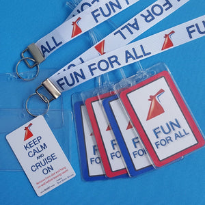 Cruise Gift Set - Carnival - Lanyards - Luggage Tags - Light Card®