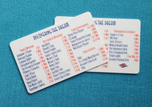DCL - Deck Locator - Deck Finder - Wayfinder Cards - Disney Cruise - Dream - Fantasy - Magic - Wonder - FE Gift - Fish Extender