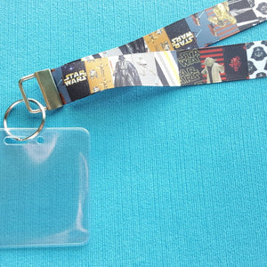 Disney Lanyard  - for KTTW Card - Disney Cruise - DCL - Star Wars - Non-scratchy - Child or Adult - ID Holder