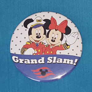 Disney Cruise Grand Slam - DCL Grand Slam - Celebration Button - Celebration Magnet - Celebration Pin - Mickey & Minnie - Door Magnet