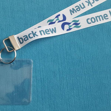 Lanyard - Come Back New - for Princess Cruise - Non-scratchy - Child or Adult