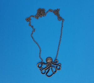 Disney Cruise Fish Extender FE Gift Pirate Night Necklace Pirates in the Caribbean Octopus Boys Teens Men