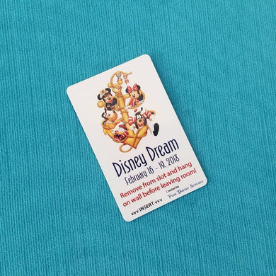 Disney Cruise Light Card® - Anchors Away! - custom magic card key switch activator - for Fish Extender FE Gift DCL