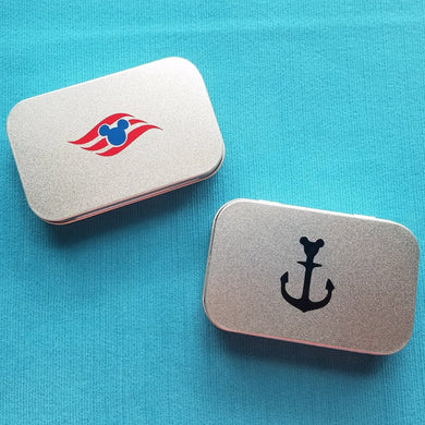 Disney Cruise Fish Extender Gift - Tin Box - Use for sewing kit - First Aid kit - DCL FE Gift