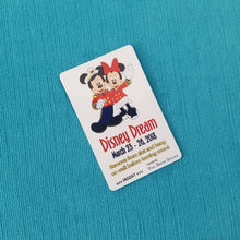 Disney Cruise Light Card® - Captain Mickey & Sailor Minnie - custom magic card key switch activator for Fish Extender FE Gift DCL