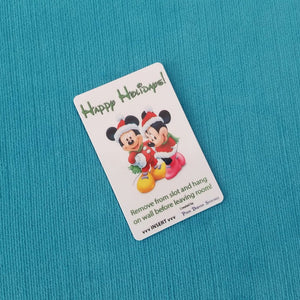 Disney Cruise Light Card® - Happy Holidays - Christmas - Merrytime - magic card key switch activator for Fish Extender FE Gift DCL