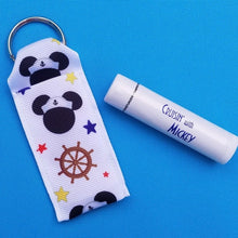Lip balm Holder with Coconut Lip Balm - Set - for Disney cruise - DCL - Nautical Mickey - Fish Extender gift - FE gift - Exclusive! Save 10%