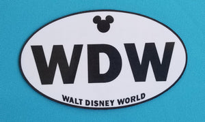 Disney World Fan Magnet - Walt Disney World - WDW - Not a passholder - Love Disney