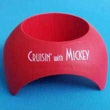 Disney Cruise Beach Cup Holder - Poolside cup holder - cupholder - Cruisin' with Mickey - Exclusive Red Turtleback - FE - Fish Extender Gift