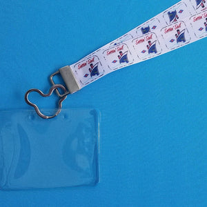 Disney Lanyard  - for KTTW Card - Disney Cruise - DCL - Settin' Sail - Non-scratchy - Child or Adult - ID Holder
