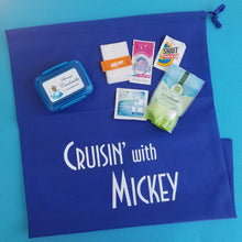 Disney Cruise Laundry Set - Cruisin' with Mickey - Travel Laundry Bag & Laundry Kit - Fish Extender Gift - FE Gift - Cabin Gift