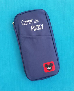 Disney Cruise Line - Cruisin' with Mickey - Passport Holder - Document Organizer - Fish Extender - DCL FE Gift
