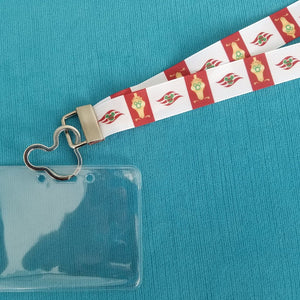 Disney Cruise Lanyard - KTTW Card Holder - Christmas Cruise - Merrytime Cruises - Non-scratchy - Child or Adult