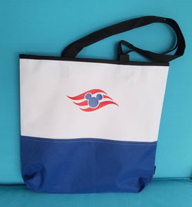 Disney Cruise Tote Bag - DCL Shoulder Bag - Beach bag - Travel Bag - Carry On - Fish Extender Gift - FE Gift - Cruisin' with Mickey