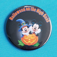 Disney Cruise - Halloween on the High Seas - Halloween Button - Halloween Magnet - Door Magnet - FE Gift