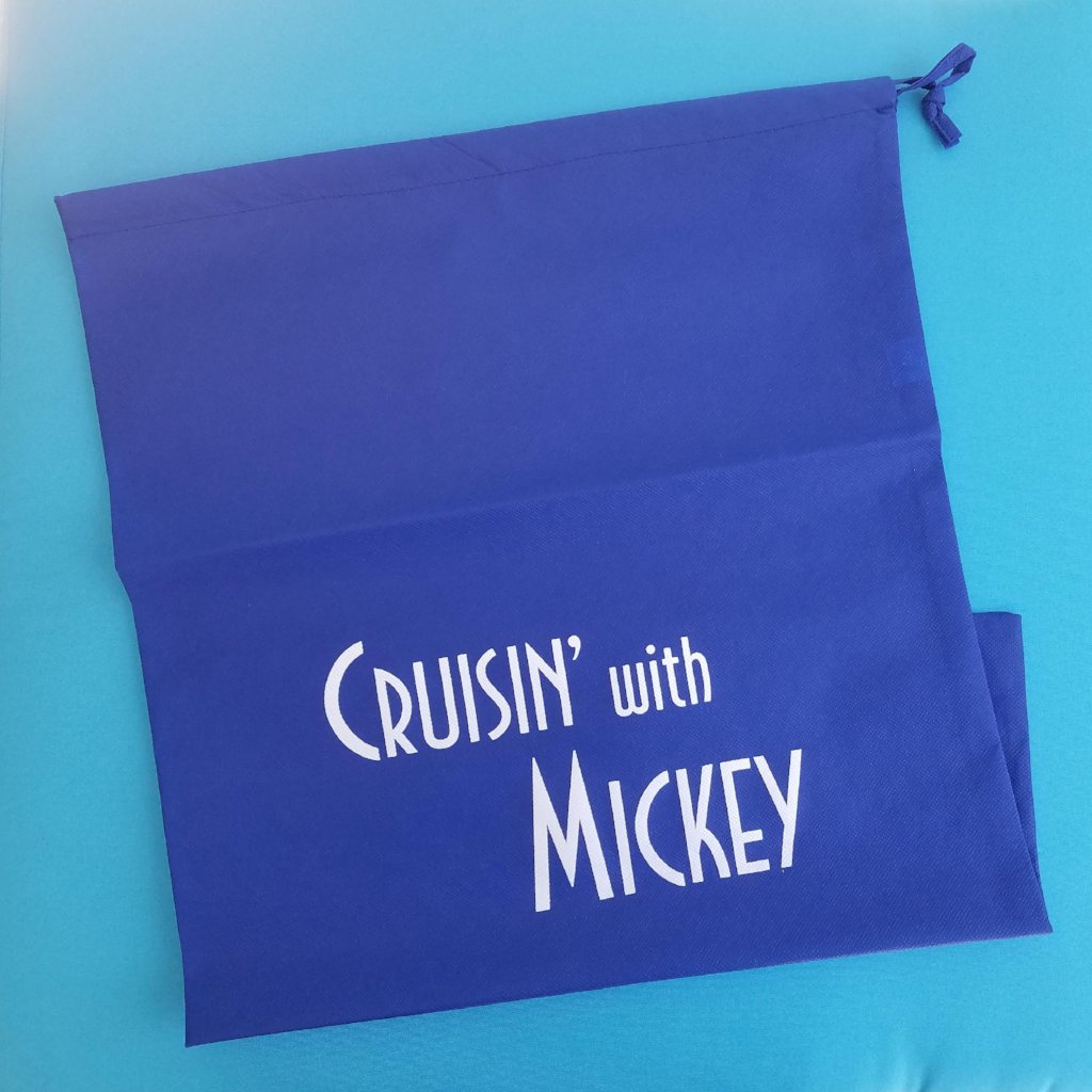 Disney Cruise Laundry Bag - Cruisin' with Mickey - Travel Laundry Bag - Fish Extender Gift - FE Gift - Cabin Gift - Cruise Gift