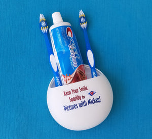 Disney Cruise - Parks -  Toothbrush Holder - Suction Mounted - Disney Cruise DCLFish Extender Gift - FE Gift - Disney World WDW - Disneyland