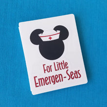 Disney Cruise First Aid Kit - Emergency Kit - Emergen-Sea - Disney Cruise Fish Extender Gift - DCL FE Gift - Cabin Gift