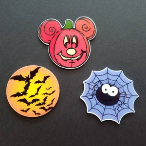 Halloween on the High Seas - Pumpkin Mickey - Magnet Set - for Fish Extender Gift - Disney Cruise FE Gift - DCL