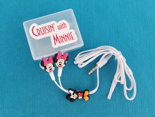 Cruisin' with Mickey - Cruisin' with Minnie-  Earbuds & Case - Fish Extender Gift - Earphones - Disney Cruise FE Gift