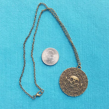 Disney Cruise Fish Extender FE Gift - Pirates of the Caribbean Aztec Coin Necklace - Pirates IN the Caribbean - Boys Teens Men