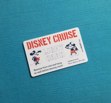 Disney Cruise Light Card® - Stencil Steamboat Willie & Sailor Minnie - magic card key switch activator for Fish Extender FE Gift