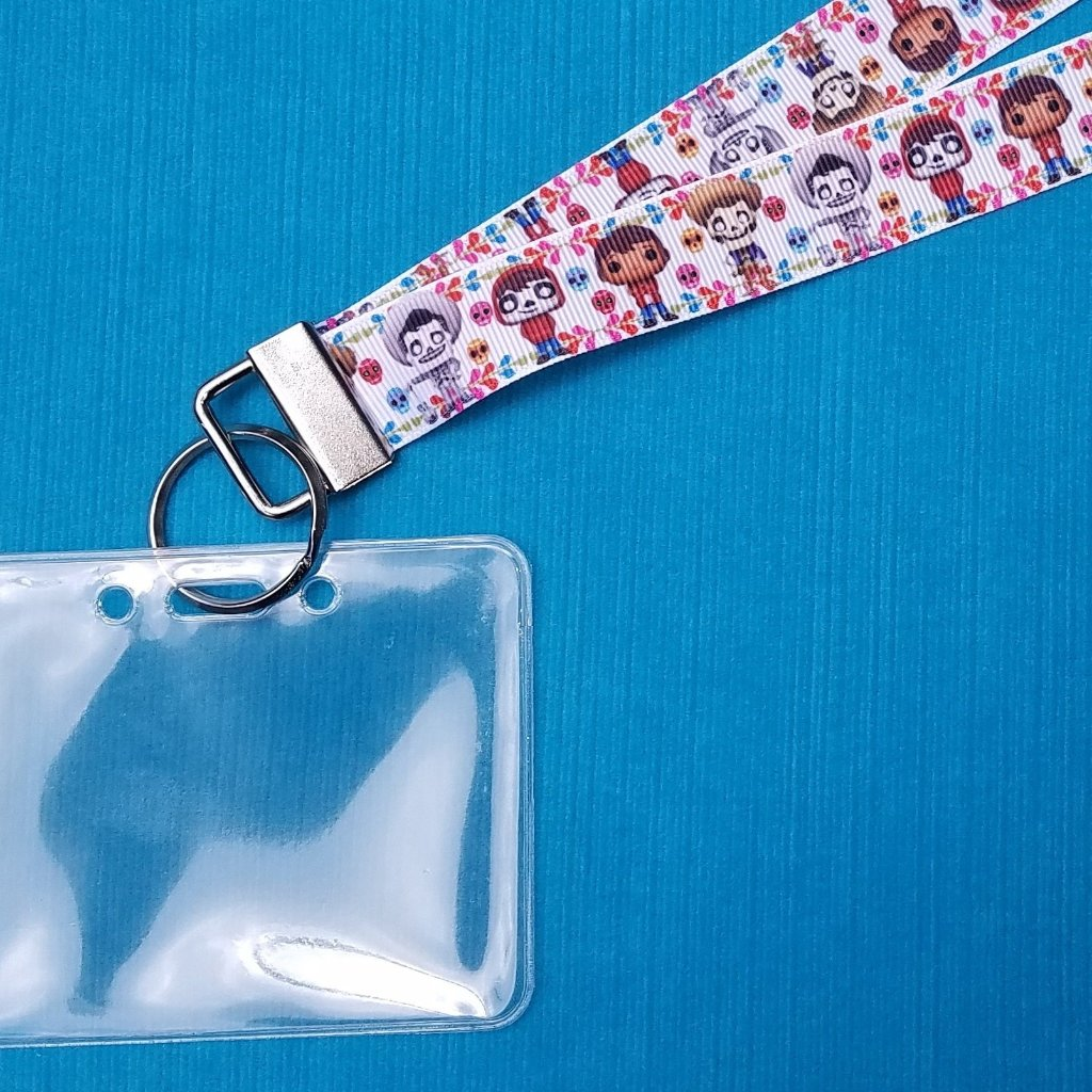 Disney Lanyard  - for KTTW - Coco - DCL - Disney World - Disneyland - Non-scratchy - Child or Adult