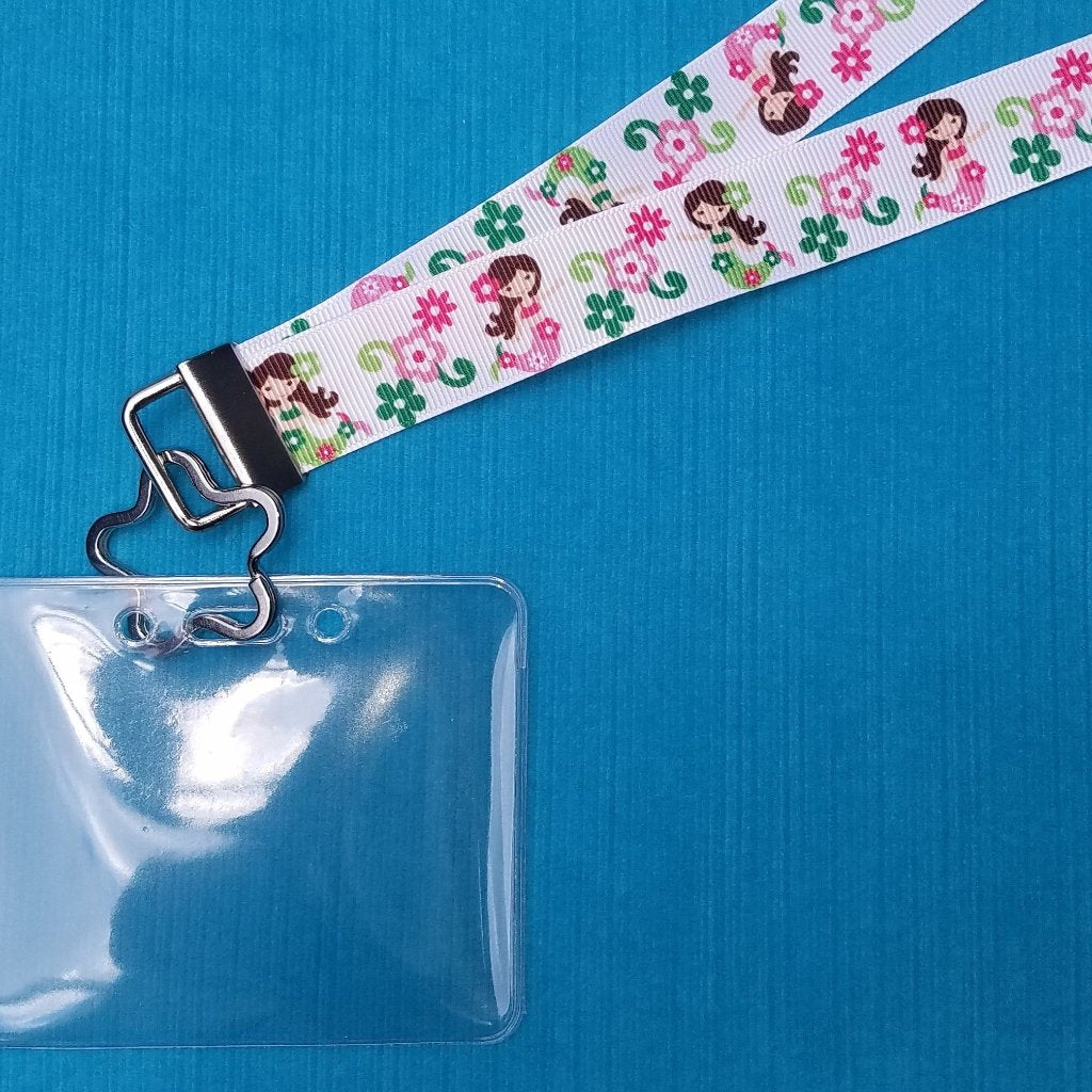 Cruise Lanyard  - Little Mermaids - Disney - Royal Caribbean - Princess - Norwegian - MSC - Carnival - Non-scratchy - Child or Adult