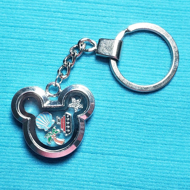Memory Locket Key Chain - DCL Floating Locket