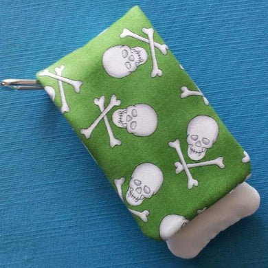 DCL - Disney Cruise - Green Skull and Crossbones Wavekeeper™ - Wave Phone Holder