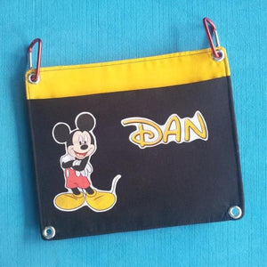 Add-on Fish Extender Pocket - DCL - Disney Cruise - Interchangeable - Flexible - FE - Custom - Additional pocket