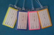 Set of Four Princess Luggage Tags for Your Disney World - Land - Cruise Trip
