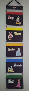 Five Pocket Cruise Fish Extender - DCL - Disney Cruise - Five Pocket FE - Flexible - Interchangeable - Custom - Any characters