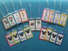 Set of Two Custom Luggage Tags for Your Disney World - Land - Cruise Vacation