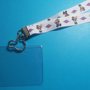 Disney Cruise Lanyard - for KTTW Card - DCL - Mickey & Minnie - Non-scratchy - Child or Adult