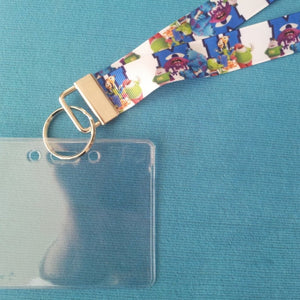 Disney KTTW Card Holder/Lanyard  - Monsters University - Non-scratchy - Child or Adult