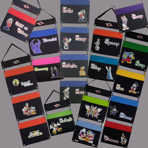 Fish Extender - Disney Cruise Fish Extender - DCL Fish Extender - 1 2 3 4 5 pockets - Interchangeable - Flexible - Custom - Any Characters