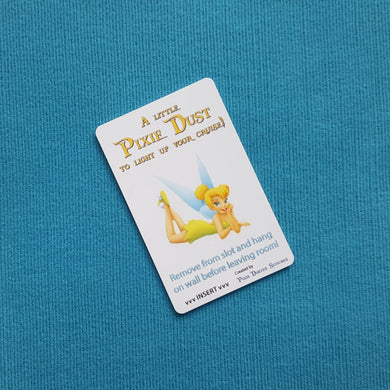 Tinkerbell Disney Cruise DCL Light Card® card key switch activator Great for Fish Extender FE Gift