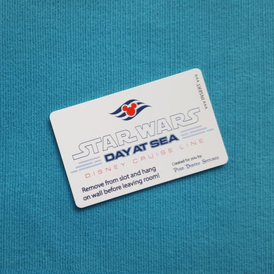 Star Wars Day at Sea DCL Logo Disney Cruise Light Card® card key switch activator for Fish Extender FE Gift